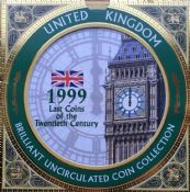 1999 Brilliant Uncirculated Coin Collection